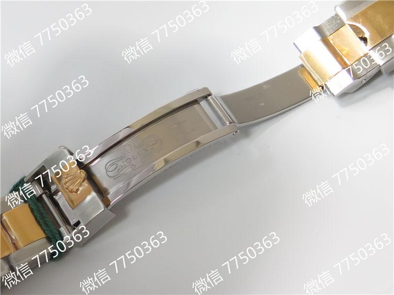 VR厂劳力士潜航者系列18K包金间金鬼王复刻表拆解测评-第14张