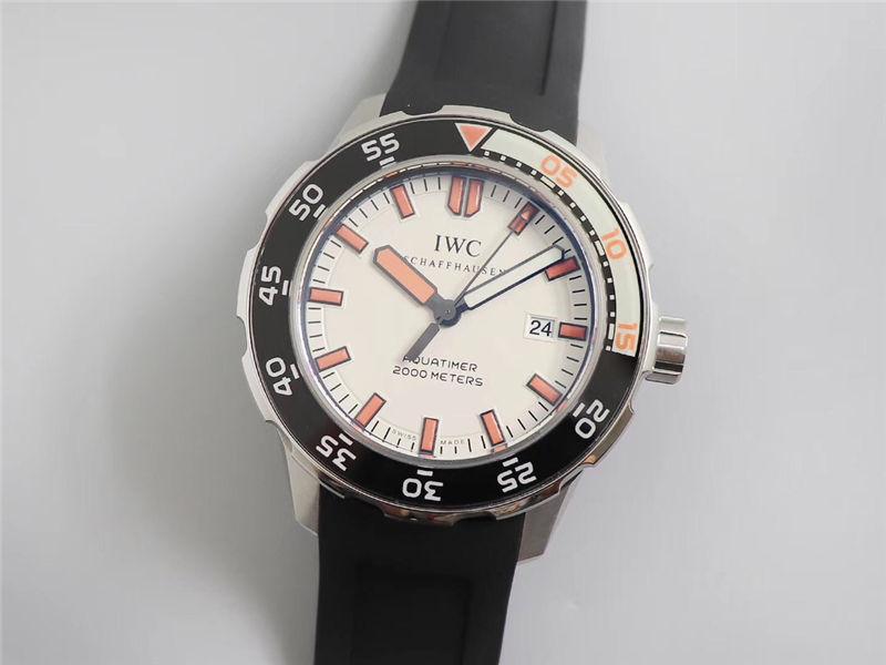IWS厂万国海洋时计四分之一橙IW356807_复刻表测评
