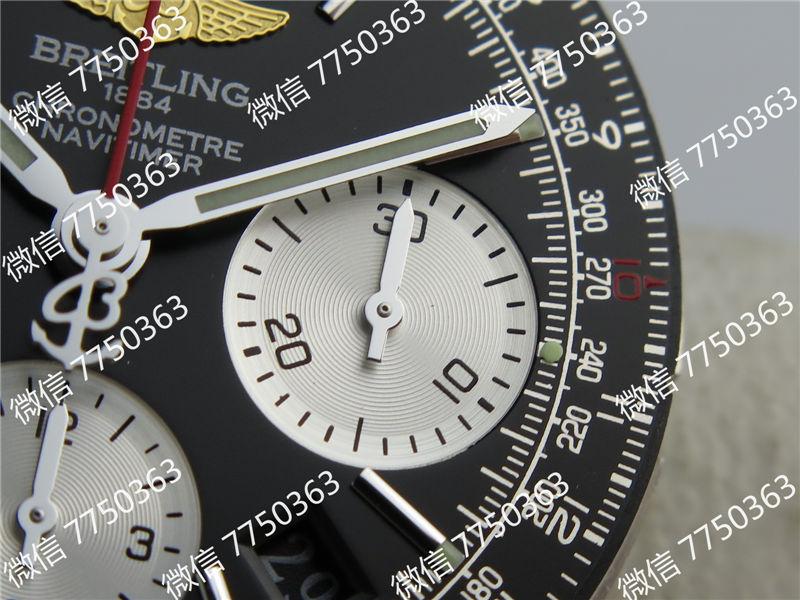 JF厂百年灵航空计时黑色复刻表拆解测评-第19张