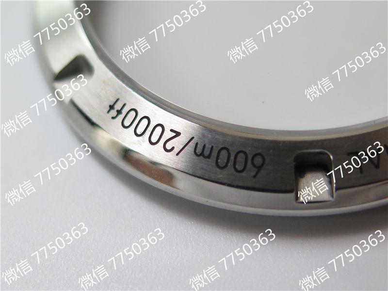 VS厂欧米茄海马600米钢字胶带款39.5mm复刻表拆解测评-第13张