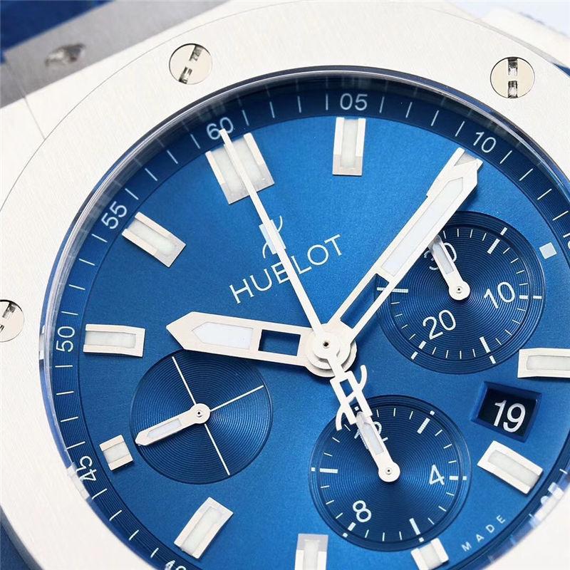 V6厂宇舶恒宝Big Bang系列蓝光计时腕表301.SX.7170.LR
