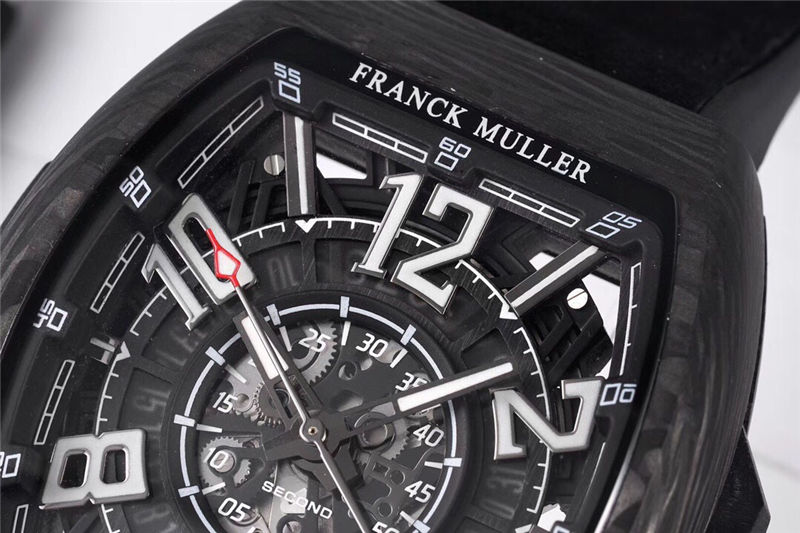 TW厂法穆兰Vanguard Racing镂空腕表做工品质如何_复刻表测评-第8张