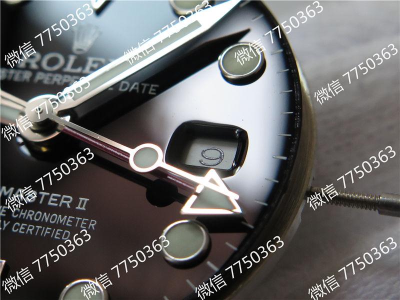 GM厂劳力士格林尼治红蓝圈116719三珠链3186机芯复刻表拆解测评-第6张