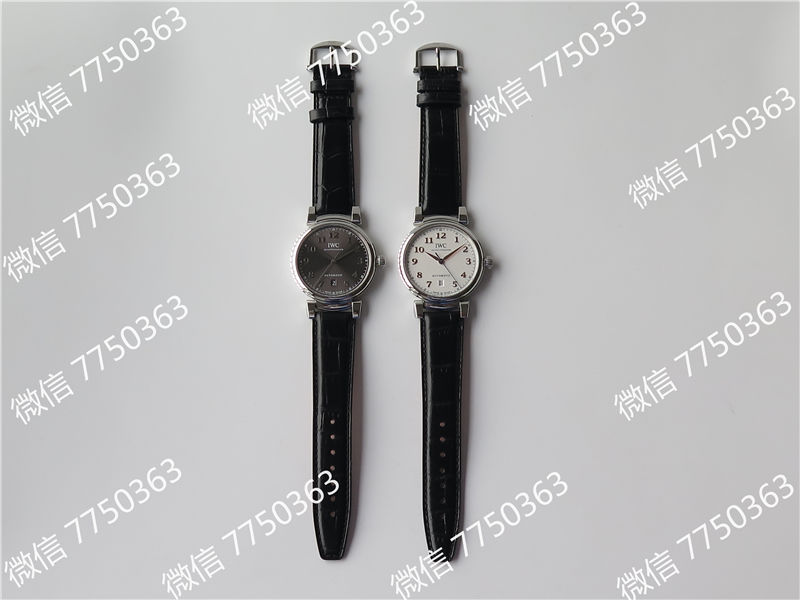 TW厂万国达文西系列三针皮表带款复刻表拆解测评-第1张