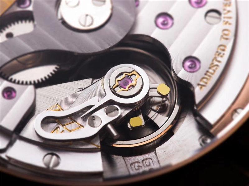 V9厂格拉苏蒂原创议员系列大日历月相_复刻表与正品对比测评-第45张