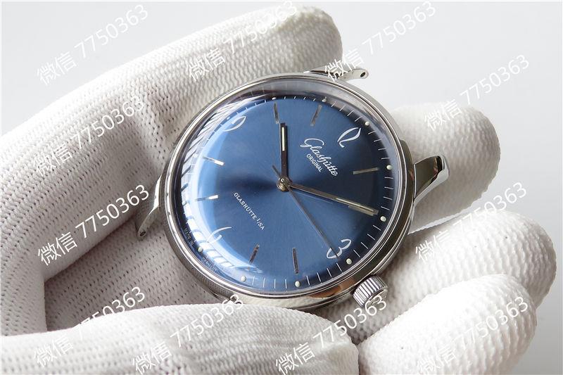 GF厂格拉苏蒂1960蓝色复刻表拆解测评-第7张
