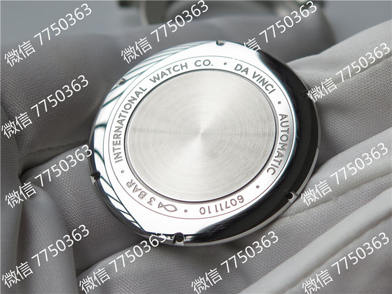 TW厂万国达文西系列三针皮表带款复刻表拆解测评-第42张