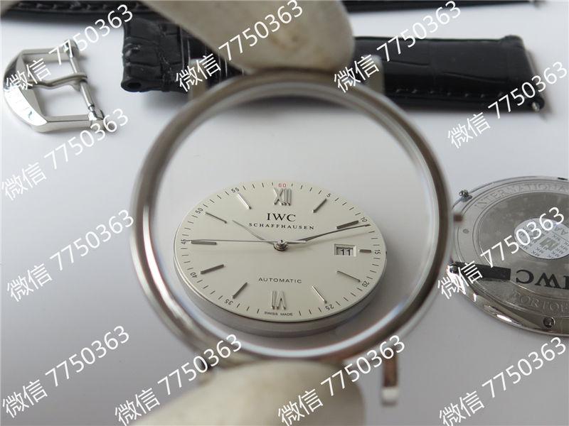 MKS厂万国波涛菲诺系列白色表盘皮带款复刻表拆解测评