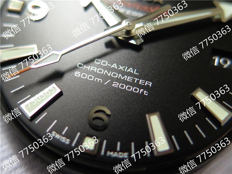 VS厂欧米茄海马600米钢字胶带款39.5mm复刻表拆解测评-第5张