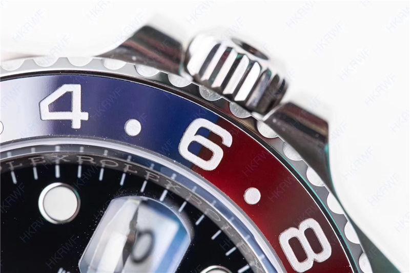 N厂劳力士红蓝圈格林尼治126710BLRO_复刻表测评-第8张