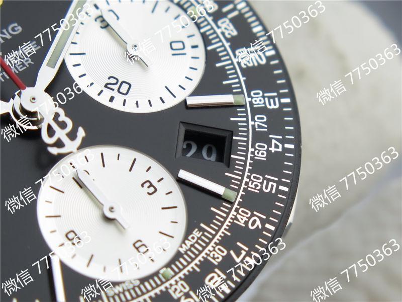 JF厂百年灵航空计时黑色复刻表拆解测评-第20张