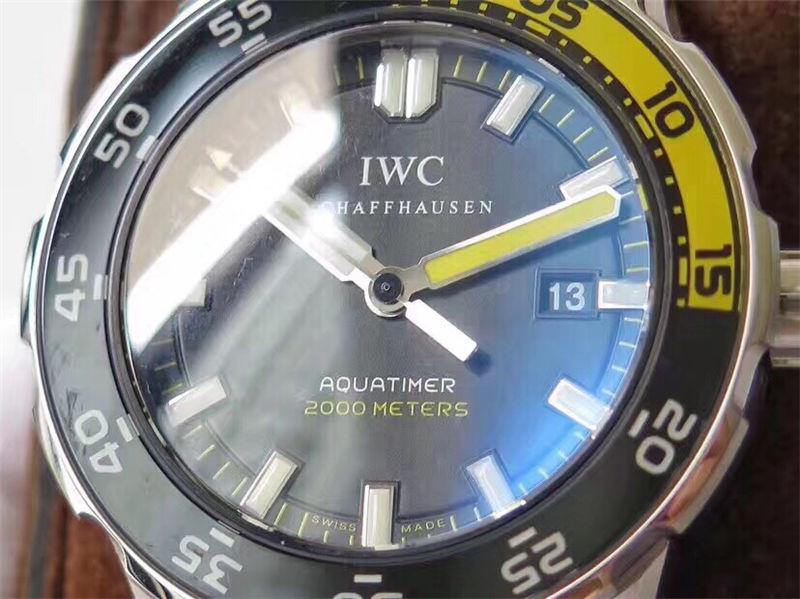 IWS厂万国海洋时计四分之一黄IW356810_复刻表测评-第5张