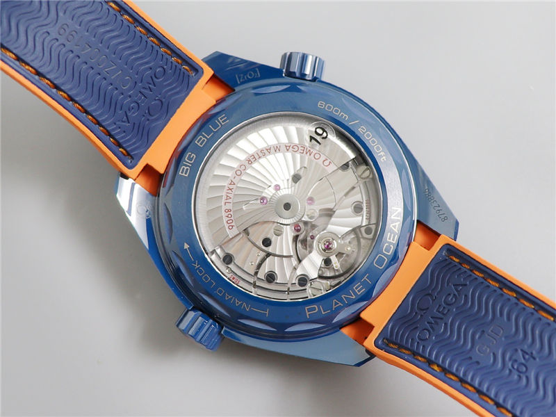 VS厂欧米茄海马600碧海之蓝陶瓷表_复刻表测评-第10张