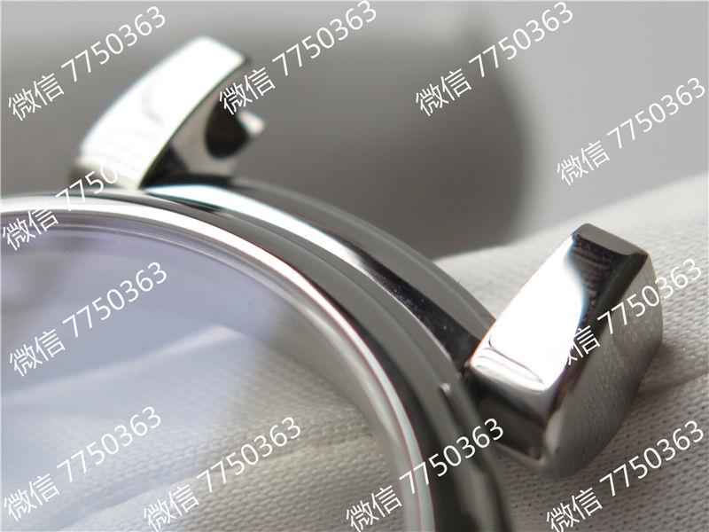 TW厂万国达文西系列三针皮表带款复刻表拆解测评-第31张