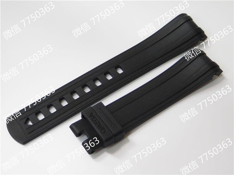 VS厂欧米茄海马300米黑面波浪纹胶带款复刻表拆解测评-第17张