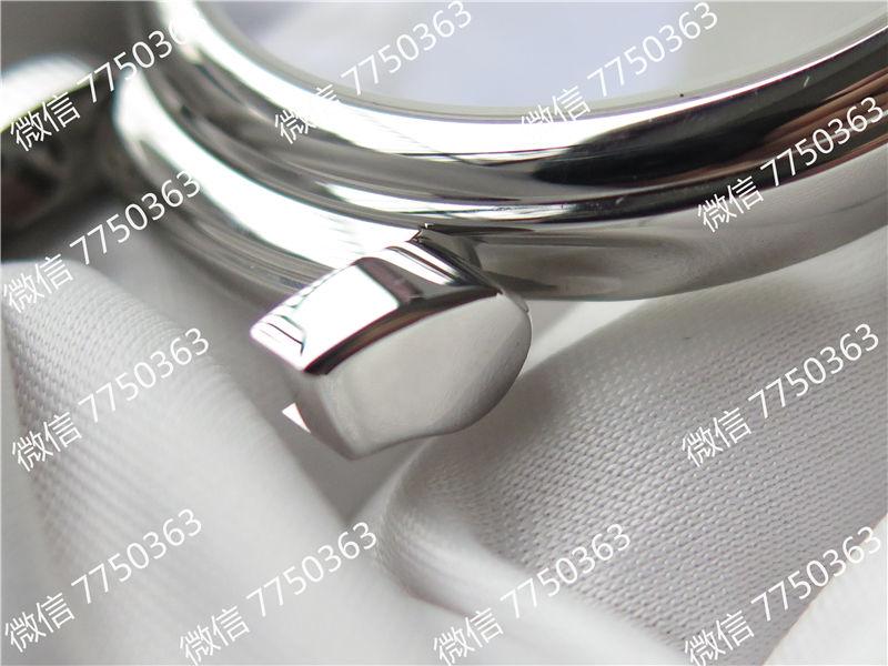 TW厂万国达文西系列三针皮表带款复刻表拆解测评-第34张