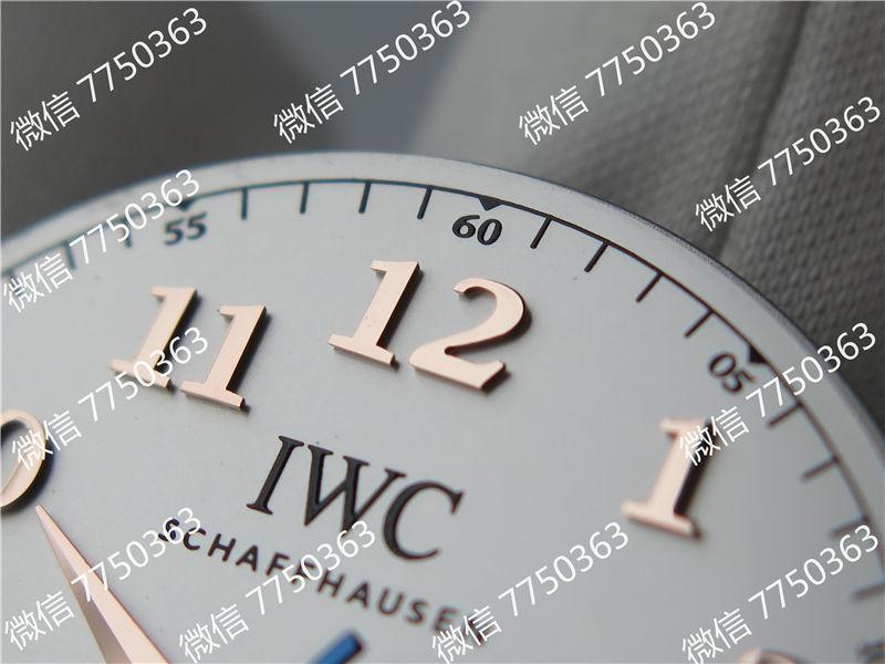 TW厂万国达文西系列三针皮表带款复刻表拆解测评-第23张