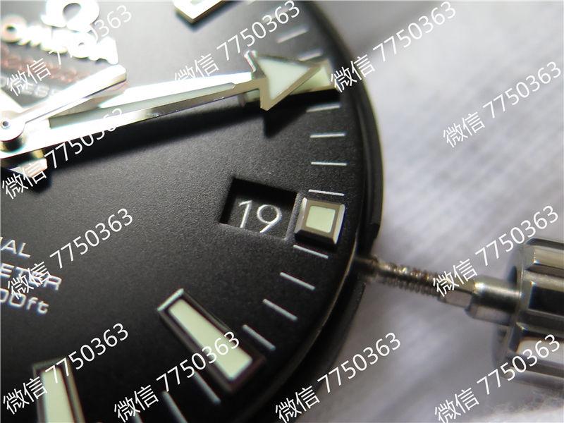 VS厂欧米茄海马600米钢字胶带款39.5mm复刻表拆解测评-第6张