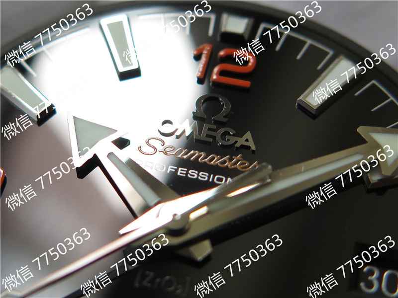 VS厂欧米茄海洋宇宙600米四分之一橙色胶带款复刻表拆解测评-第5张