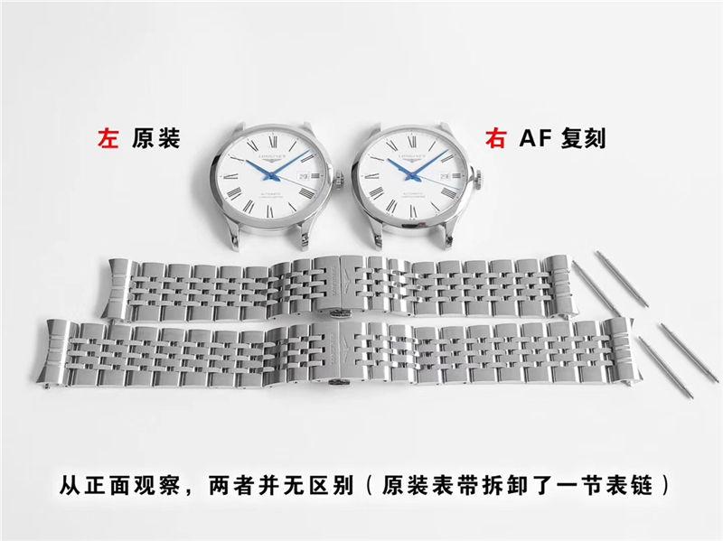 AF厂浪琴制表传统开创者_复刻表与正品对比测评-第1张