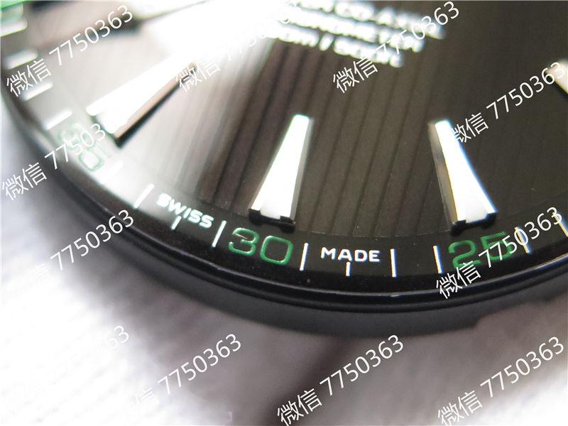 VS厂欧米茄海马150米黑色面绿色秒针复刻表拆解测评-第6张