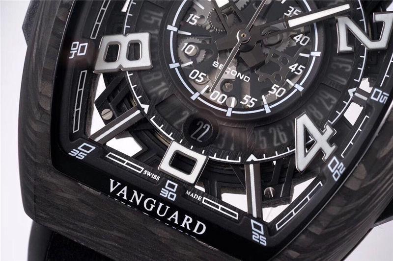 TW厂法穆兰Vanguard Racing镂空腕表做工品质如何_复刻表测评-第9张