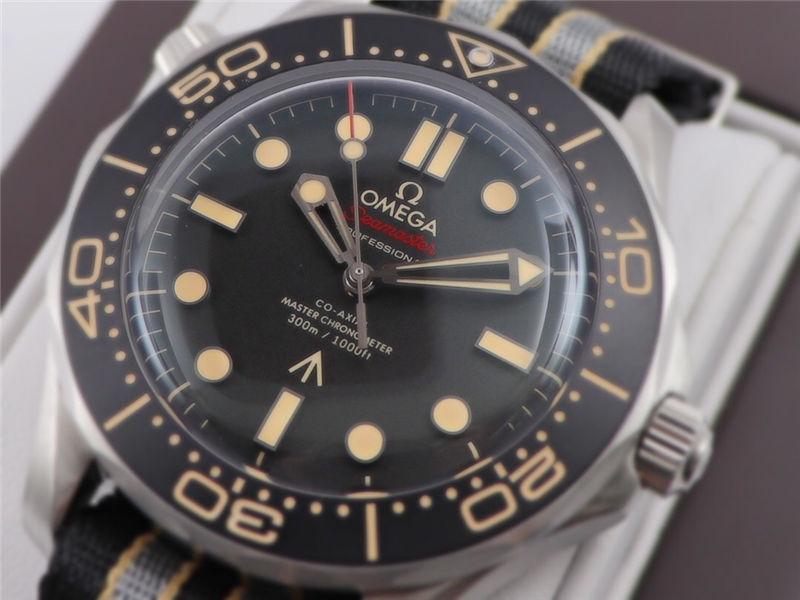 VS厂欧米茄邦德007无暇赴死复刻表对比市场版本-如何辨别VS厂海马007钛壳-第7张