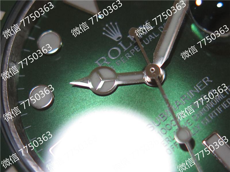 VR厂劳力士潜航者绿鬼316钢2824机芯复刻表拆解测评-第4张