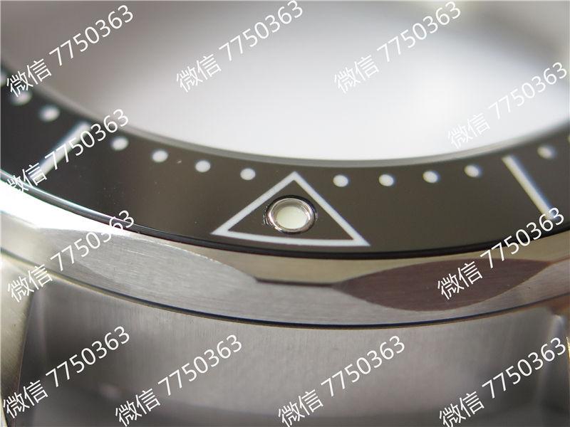 VS厂欧米茄海马300米黑面波浪纹胶带款复刻表拆解测评-第11张
