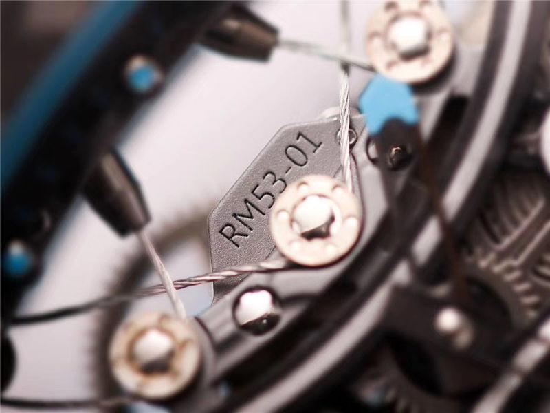 JB厂V2版理查德米勒RM53-01陀飞轮_复刻表测评-第18张