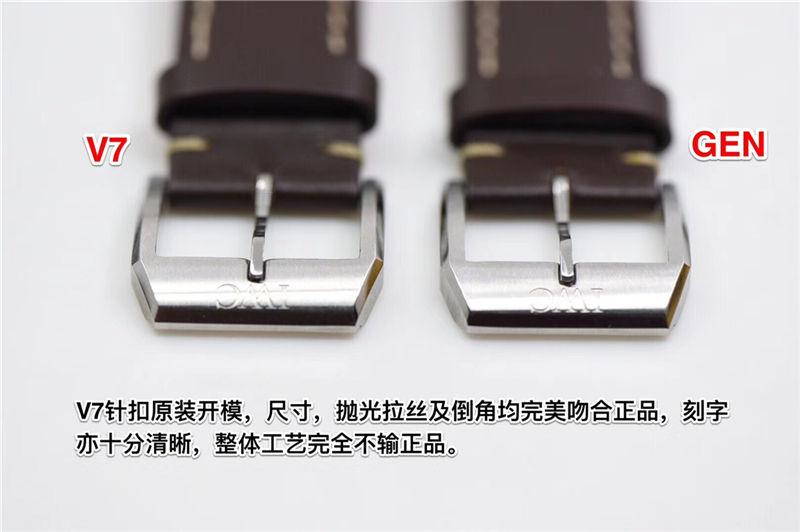V7厂万国马克十八瑞士ETA2892机芯_复刻表与正品对比测评-第9张