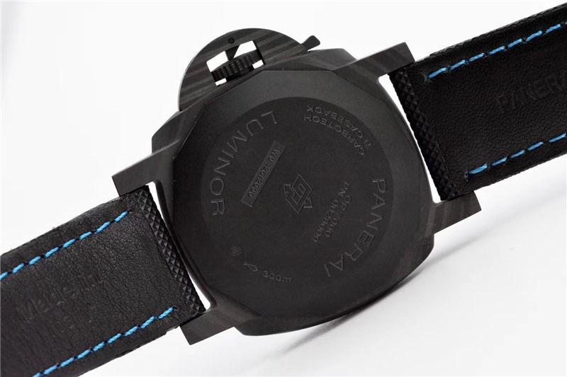 VS厂沛纳海pam1661庐米诺系列碳纤维_复刻表测评
