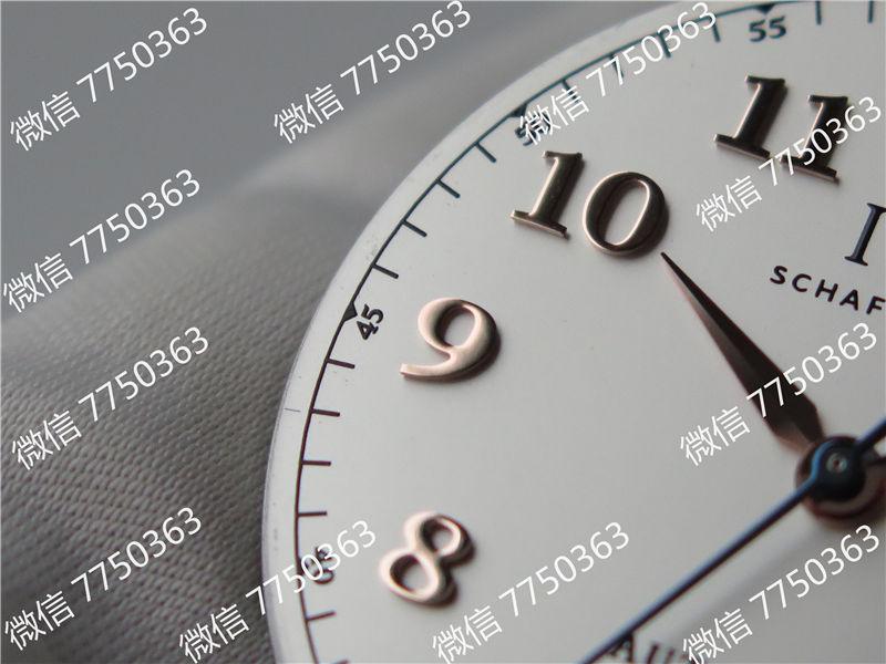 TW厂万国达文西系列三针皮表带款复刻表拆解测评-第26张