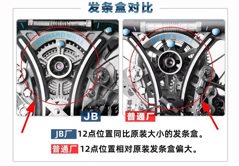 JB厂V2版理查德米勒RM53-01陀飞轮_复刻表测评-第4张