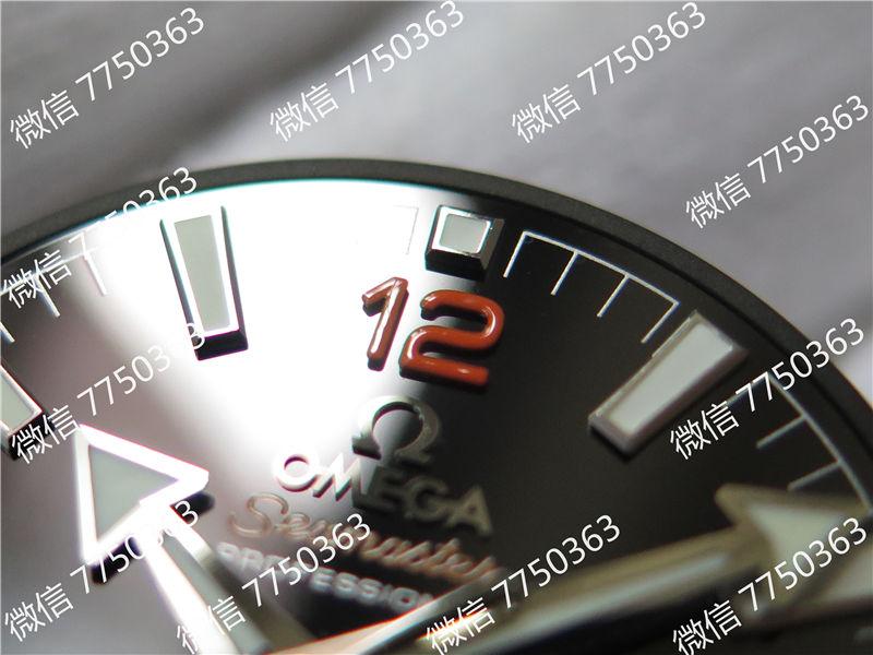 VS厂欧米茄海洋宇宙600米四分之一橙色胶带款复刻表拆解测评-第4张