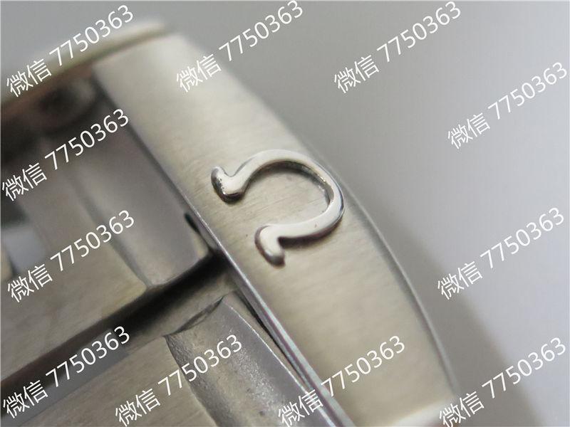 VS厂欧米茄海马600米橙色字胶带大号45.5mm复刻表拆解测评-第21张