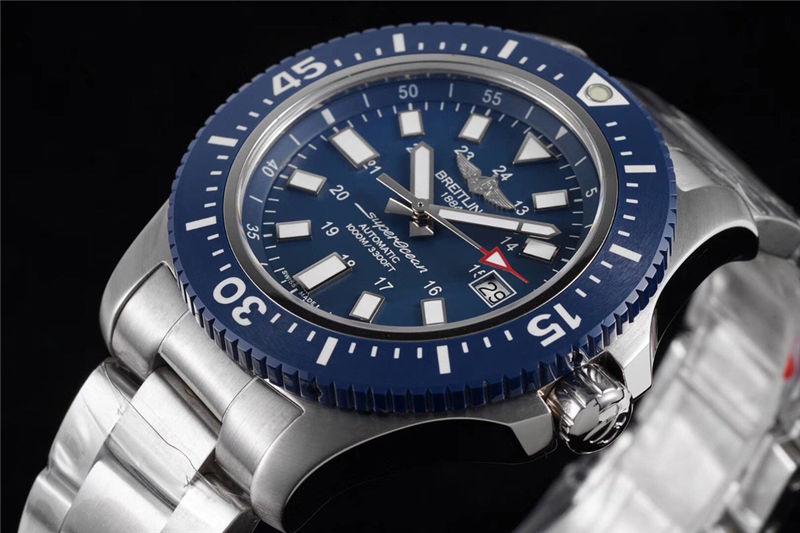 TF厂百年灵超级海洋系列44mm特别版_复刻表测评-第5张