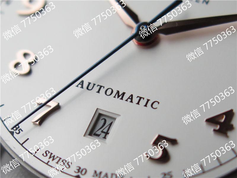 TW厂万国达文西系列三针皮表带款复刻表拆解测评-第24张