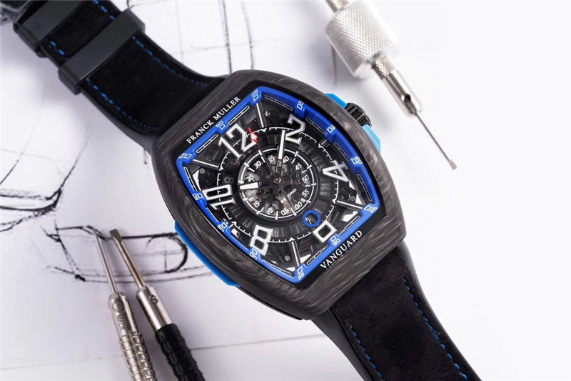 TW厂法穆兰Vanguard Racing镂空腕表做工品质如何_复刻表测评-第3张