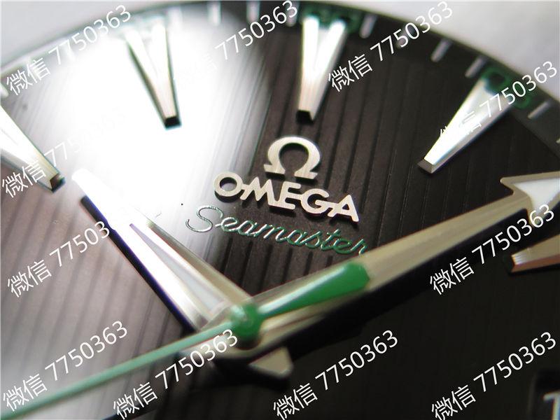 VS厂欧米茄海马150米黑色面绿色秒针复刻表拆解测评-第4张