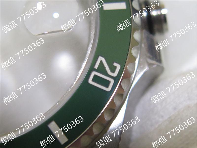VR厂劳力士潜航者绿鬼316钢2824机芯复刻表拆解测评-第36张