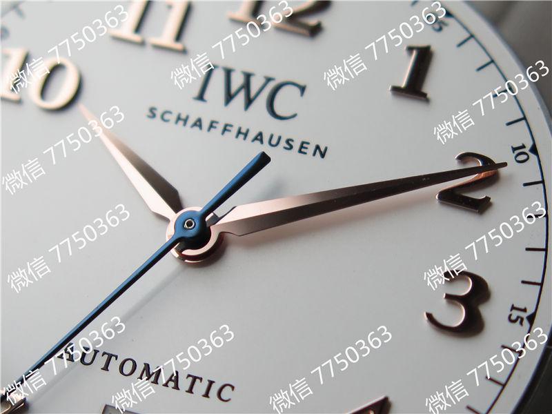 TW厂万国达文西系列三针皮表带款复刻表拆解测评-第20张