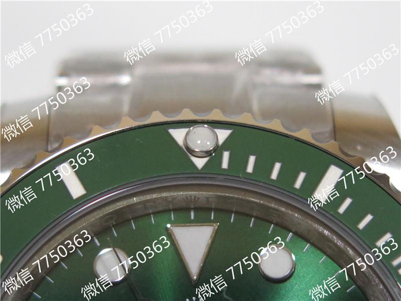 VR厂劳力士潜航者绿鬼316钢2824机芯复刻表拆解测评-第8张