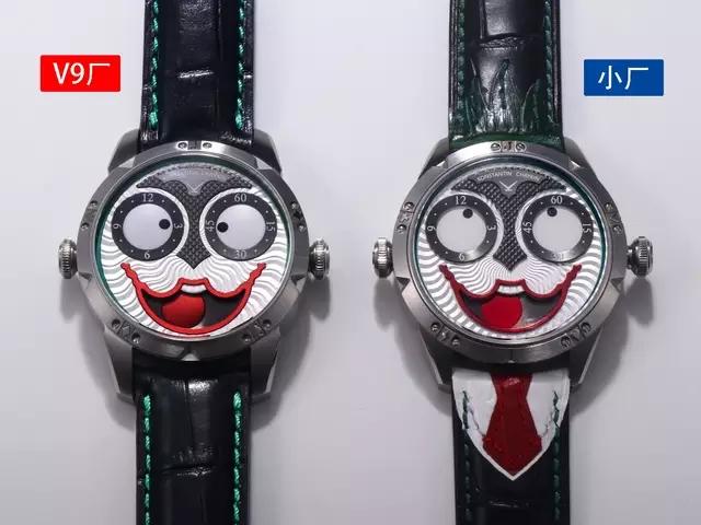 V9厂俄罗斯小丑(康斯坦丁·切金Konstantin Chaykin)_复刻表测评