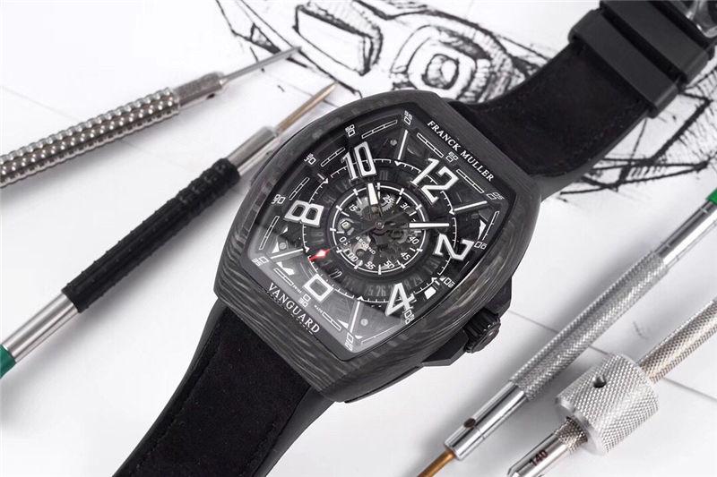 TW厂法穆兰Vanguard Racing镂空腕表做工品质如何_复刻表测评-第6张