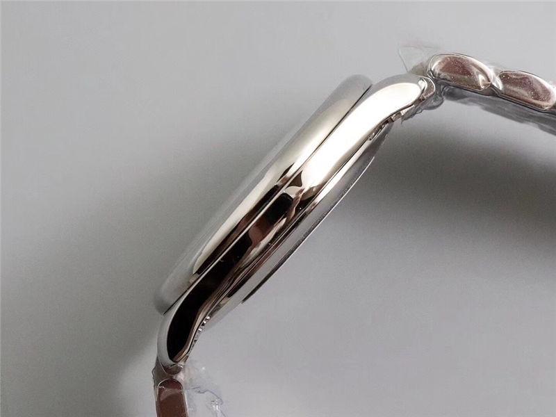 V9厂浪琴名匠三针日历40mm_复刻表与正品对比测评-第16张