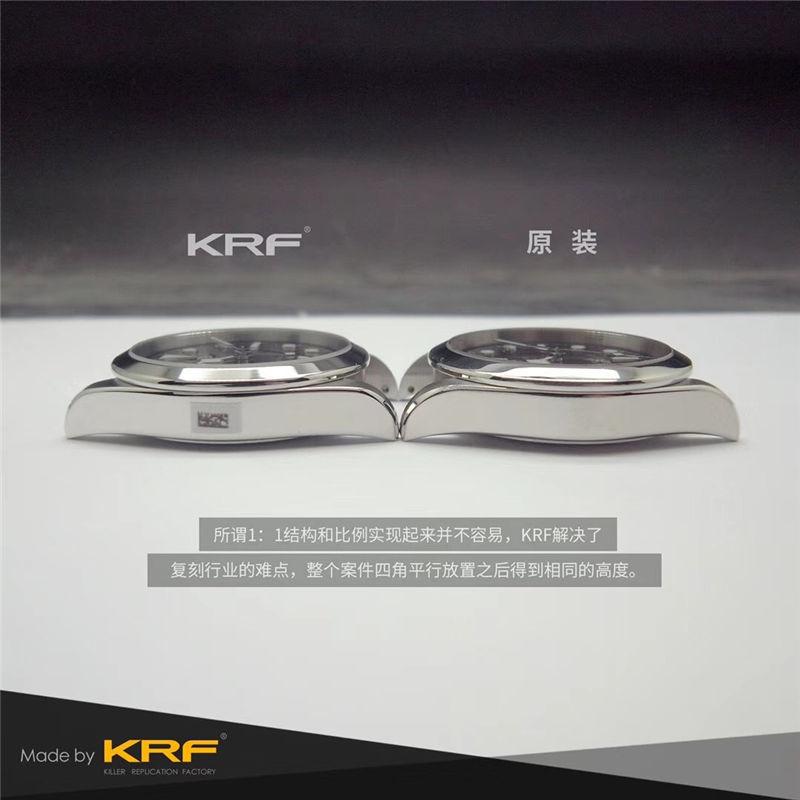 KRF厂V3版帝舵碧湾79500_复刻表与正品对比测评-第8张