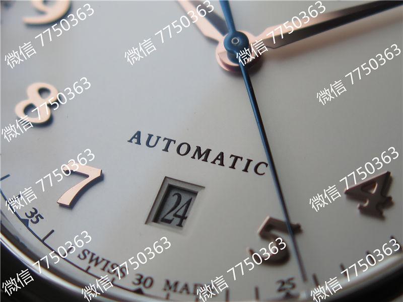 TW厂万国达文西系列三针皮表带款复刻表拆解测评-第7张