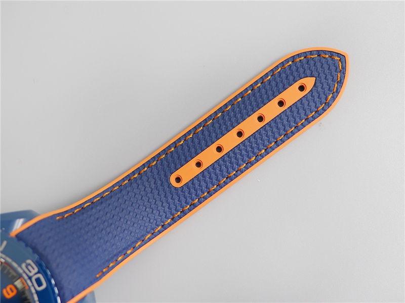 VS厂欧米茄海马600碧海之蓝陶瓷表_复刻表测评-第8张