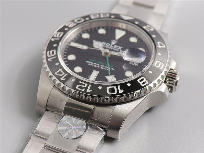 AR厂劳力士格林尼治二代116710绿针GMT_复刻表测评-第2张